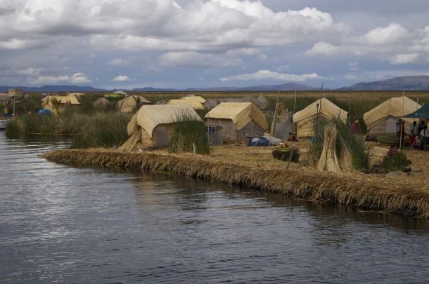 Village en roseaux