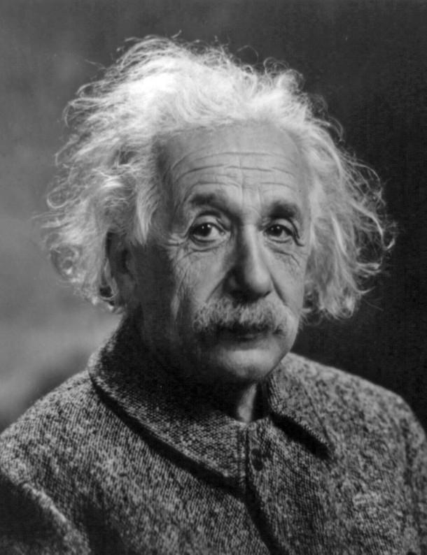 Albert Einstein, un des scientifiques à l'origine de la théorie du Trou de ver