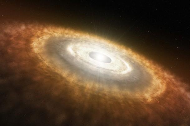Disque protoplanétaire : la formation du système solaire
