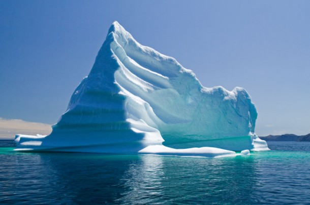 Photo d'un iceberg