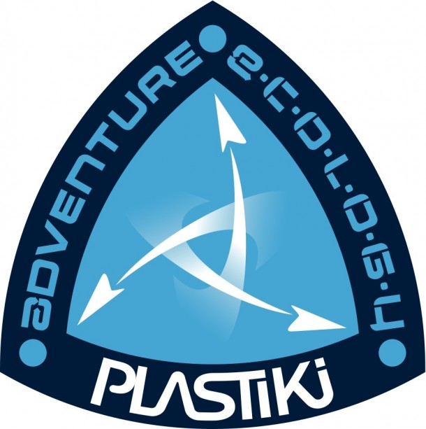 Le logo du projet Plastiki