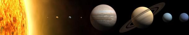 Les planètes de notre système solaire