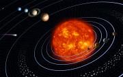 Système solaire et révolution des planètes